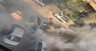 سقوط قذائف صاروخية على أحياء سكنية في العاصمة دمشق