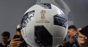 كرة المباراة الافتتاحية لكأس العالم 2018 زارت الفضاء