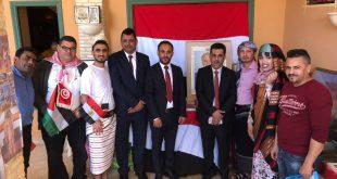 اليمن تشارك في مهرجان الأنشطة التراثية العربية في توزر التونسية