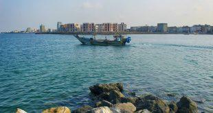 شاطئ البحر الاحمر | مدينة الحديدة !
