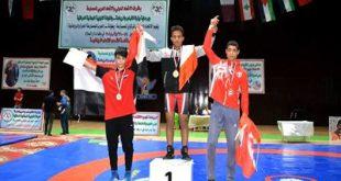 المقطري يحرز ميداليتان ذهبية وفضية في البطولة العربية للناشئين