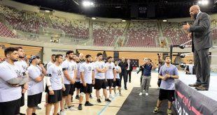 """تريبل إتش يوجه رسالة للمصارعين السعوديين قبل المشاركة في """"أعظم رويال رامبل"""""""