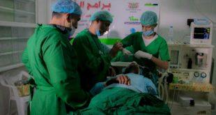الحديدة : تدشين اجراء العمليات الجراحية بمخيم طيبة الطبي