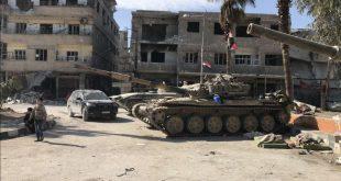 إعلام رسمي: وقف مؤقت لإطلاق النار في جيب بجنوب دمشق لأسباب إنسانية
