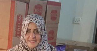 الحديدة: الدكتورة اشواق محرم تعلن توزيعها لحليب ومكملات غذائية للأطفال المصابين بسوء التغذية مجانا
