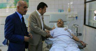 الحديدة :وزير الصحة يناقش مع ممثل الصحة العالمية الوضع الصحي