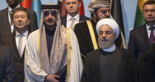 روحاني لتميم: لا حل عسكرياً في اليمن