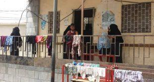 الحديدة: منظمة سياج تدعو لانقاذ مئات الاسر النازحة