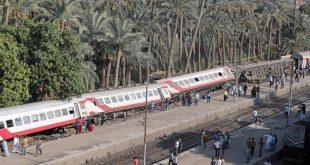الصحة المصرية تعلن حصيلة انقلاب قطار المرازيق والتحقيق جار