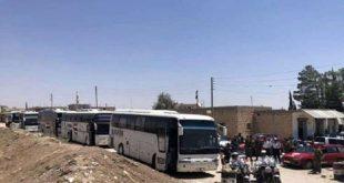 حافلات وسيارات إسعاف تصل كفريا والفوعة لإخراج أهاليها إلى حلب