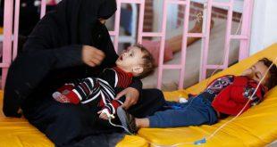 منظمة اليونيسف: وفيات الكوليرا في اليمن تجاوزت 2300 حالة