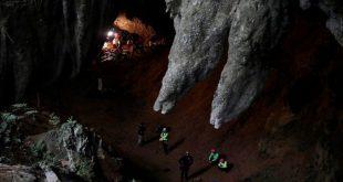 العثور على 12 طفلا بعد 9 أيام من اختفائهم داخل كهف