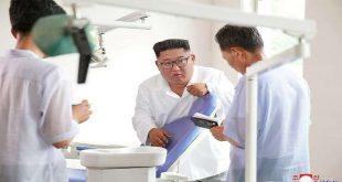 كيم ينتقد نظام الرعاية الصحية في بلاده