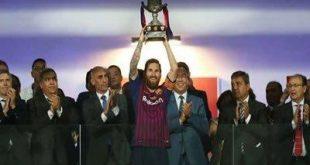 برشلونة يتوج بلقب كأس السوبر الإسباني
