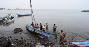 الحديدة :الثروة السمكية تدين مجزرة التحالف بحق الصيادين