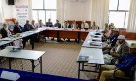 العون المباشر تدرّب لجان المستفيدين من مشاريع المياه التي تقوم بتأهيلها في المحافظات اليمنية