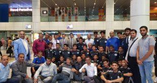 بعثة المنتخب اليمني للناشئين تصل ماليزيا للمشاركة في نهائيات كأس آسيا وسط استقبال رسمي وشعبي