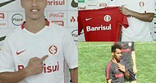 لاعب يمني يعلن إحترافه في نادي انترناسيونال متصدر الدوري البرازيلي