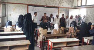 الحديدة: توزيع القيادات التربوية في جداول المدارس لسد العجز في الكادر التعليمي