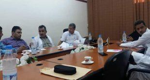 الحديدة: اجتماع لمناقشة  تعزيز الشراكة بين جامعة الحديدة ومستشفى الثورة