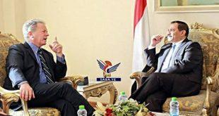 وزير الخارجية يلتقي المدير التنفيذي لبرنامج الأغذية العالمي