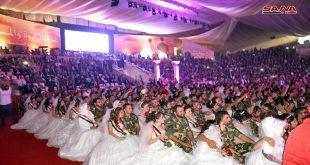 أكبر عرس جماعي في سورية