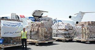 صنعا:وصول طائرة شحن تحمل أدوية ومستلزمات طبيةالى مطار العاصمة