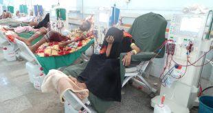 الحديدة : وكيل المحافظة يتفقد مركز الغسيل الكلوي والمستشفى الريفي في باجل