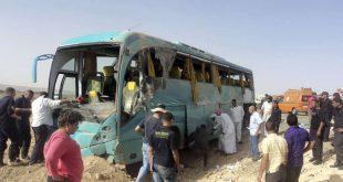 مقتل 5 أشخاص بحادث سير في مصر
