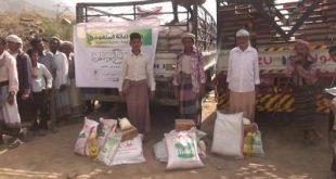 ريمة : مؤسسة البصائر توزع سلال غذائية في مديرية الجعفرية