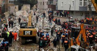 ارتفاع حصيلة ضحايا مبنى إسطنبول إلى 16 قتيلاً