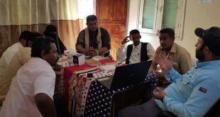 الحديدة: منظمة (عش_لتعطي)تستعرض مع الاعلاميين ما خلفته الحرب من دمار  بالمدينة