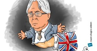 مهمة المبعوث الاممي الى اليمن غريفيتس في #كاريكاتير ساخر !!