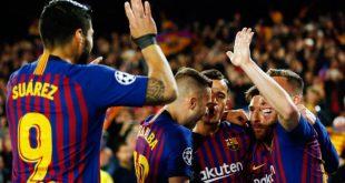 برشلونة وأجاكس يبلغان نصف نهائي دوري أبطال أوروبا بتغلبهما على مانشستر يونايتد ويوفنتوس