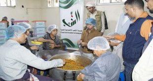 مؤسسة الشعب الاجتماعية تدشن دعم المطابخ الخيرية بأمانة العاصمة