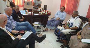 الحديدة : مناقشة مشاريع برنامج الأمم المتحدة الإنمائي