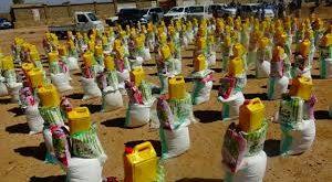 جمعية العون المباشر تدشن توزيع سلال غذائية في إب