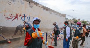 الحديدة : مؤسسة التنمية المستدامة تدشن مشروع الاستجابة الطارئة لإدارة النفايات الصلبة