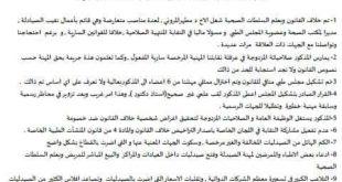 رئيس مجلس إدارة نقابة ملاك صيدليات المجتمع يُعلن تقديم إستقالته