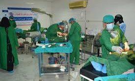 ذمار : تدشين مخيم طبي مجاني بمستشفى مدينة الشرق