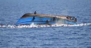 ارتفاع ضحايا حادث غرق سفينة مهاجرين قبالة تونس لـ82 شخصًا