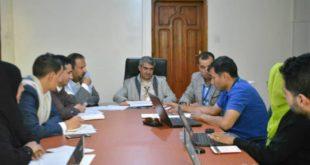 الهيئة الوطنية لشؤون الإنسانية تناقش مع برنامج الأغذية آليات تسريع تسليم المعونات نقداً