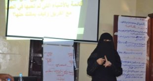 المدير التنفيذي لمؤسسة بنات الحديدة داليا قاسم :بدأنا العمل بفكره بسيطة ثم تحولنا إلى مؤسسة كبيرة