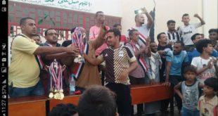 إختتام البطولة التنشيطية لكرة القدم بمديرية الميناء بالحديدة