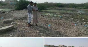 بدء شفط المياه الراكده وردم أماكنها بمديرية بيت الفقية