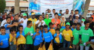 أنشطة رياضية متنوعة بمناسبة اليوم العالمي للطفل بالحديدة