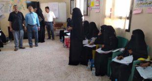 تدريب 25 عامل صحي لحملة البلهارسيا والديدان بمديرية بيت الفقية.