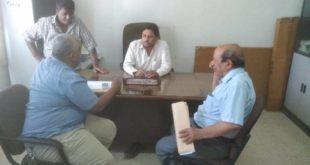 المجلس المحلي بمديرية الميناء يطلع على نشاط مؤسسة المياه والصرف الصحي