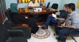 مناقشة مشاريع وأنشطة الصليب الأحمر الإنسانية بالحديدة