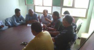 إجتماع توعوي وقائي بمديرية الميناء حول طرق الوقاية من حمى الضنك والملاريا